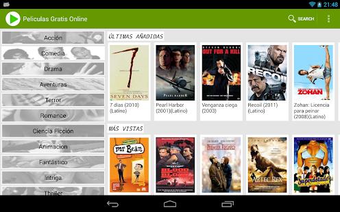 Free Spanish Movies Online - screenshot thumbnail