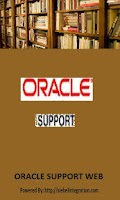 Screenshot of Oracle Support Web