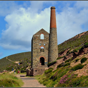Wheal Coates Mine by Sal Hosking - Buildings & Architecture Architectural Detail ( mine, cornwall )