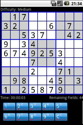 Sudoku Generator- screenshot