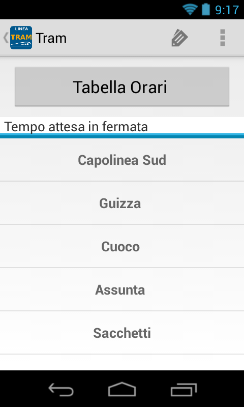 Orari Autobus Padova - screenshot