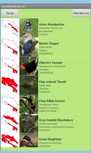 【免費書籍App】Costa Rica Birds Lite-APP點子
