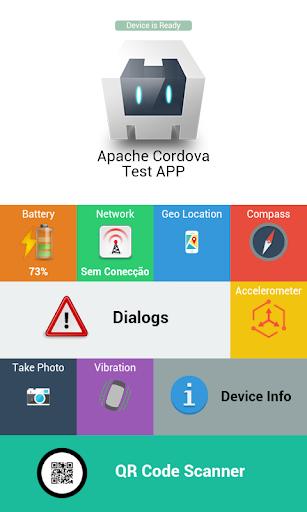 Apache Cordova Test APP