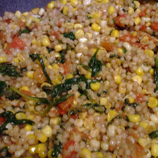 The Recipe known as Crack (cumin-y, tomato-y, corn-y, cous cous fabulosity).
