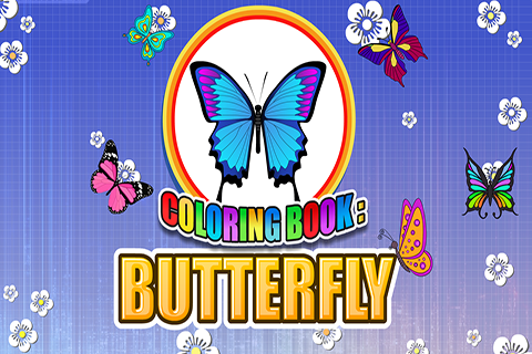 Coloring Book Butterfly