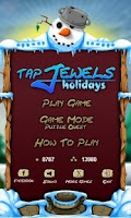 Screenshot of Tap Jewels Holiday