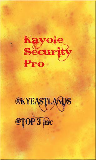 KAYOLE SECURITY PRO