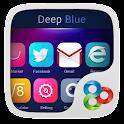 Deep Blue GO Launcher Theme APK Cracked Download