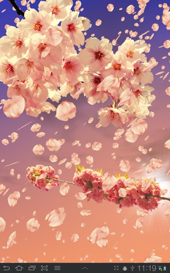 Sakura Live Wallpaper- screenshot