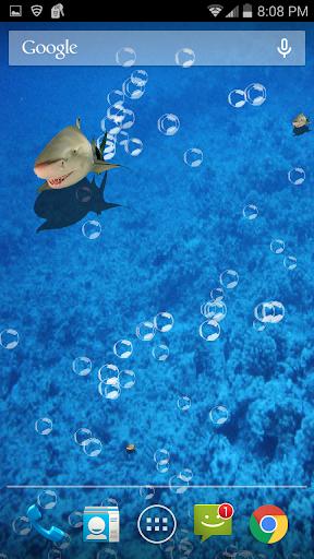 玩免費個人化APP|下載3D 鲨鱼坦克 app不用錢|硬是要APP