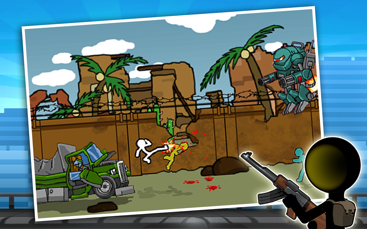 Anger of Stick 2- screenshot