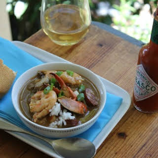 Authentic New Orleans Gumbo.