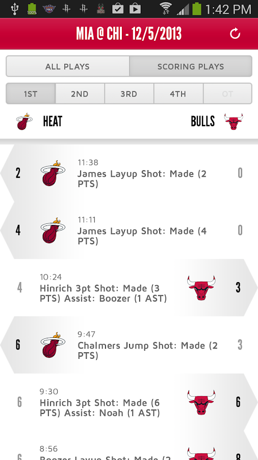 Chicago Bulls - screenshot
