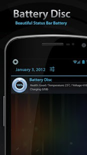 Beautiful Battery Disc White - screenshot thumbnail