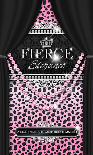 Luxury Theme Pink Cheetah SMS★