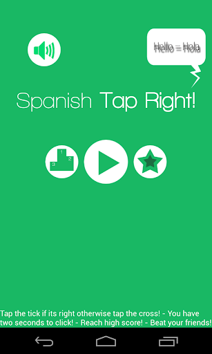 Spanish Tap Right juego