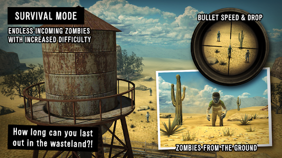 Last Hope - Zombie Sniper 3D - screenshot thumbnail