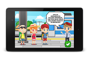 Screenshot of Game Anak Geograpiea Indonesia