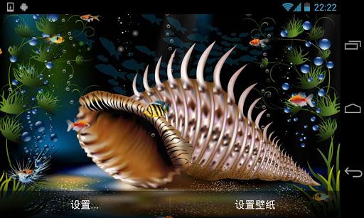 水族館動態壁紙