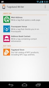 NFC Writer by Tagstand