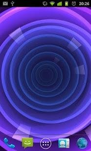 Circle Rose Live Wallpaper