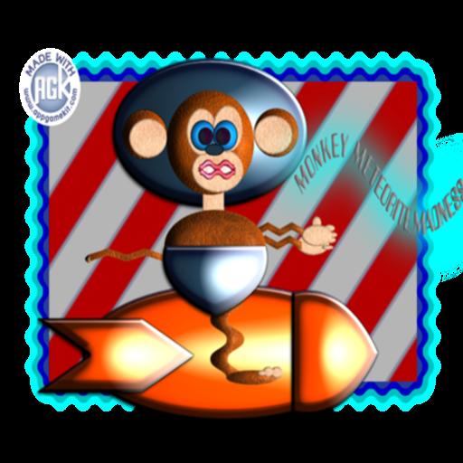 Monkey Meteorite Madness LOGO-APP點子