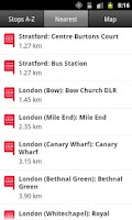 Screenshot of National Express Coach Tickets