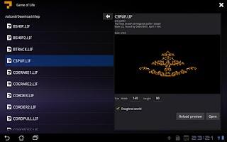 Screenshot of Game of Life Free