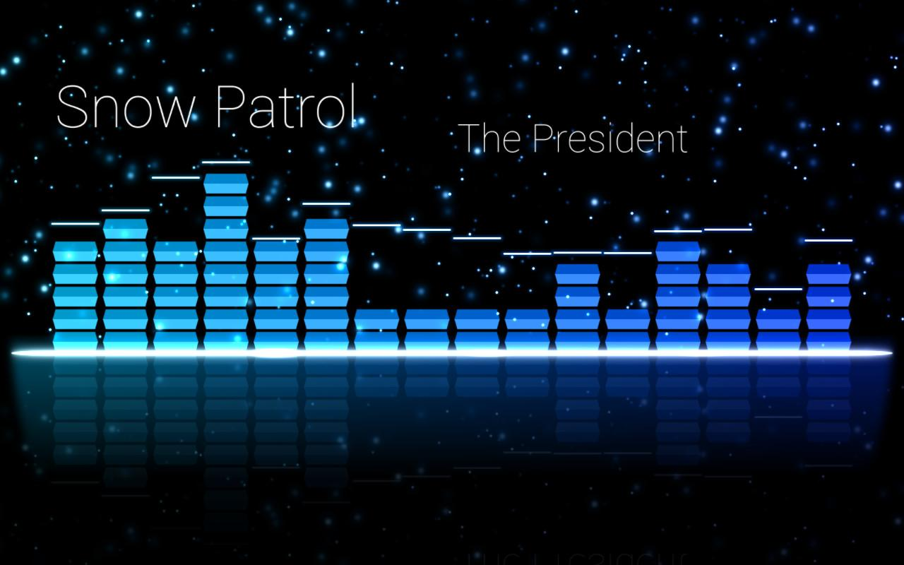 Audio Glow Music Visualizer - screenshot