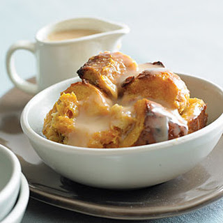Butternut Squash Bread Pudding with Tres Leches Sauce