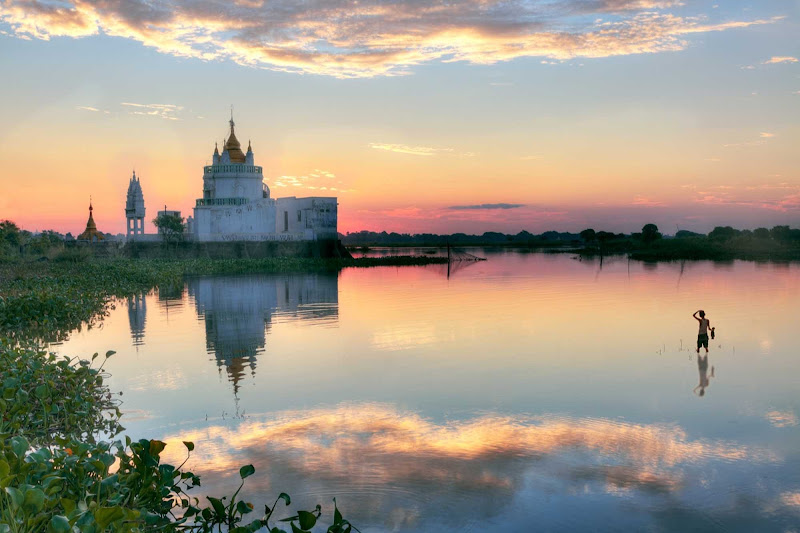 Set sail on AmaWaterways' new luxury cruise ship the AmaPura to see the Golden City of Mandalay, regarded as Myanmar's cultural heart.