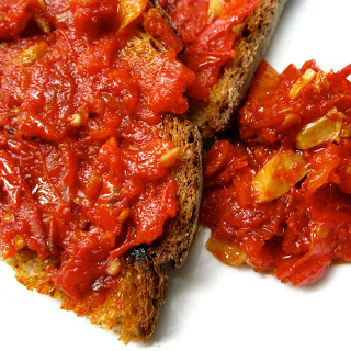 Zesty Tomato Water and Roasted Tomato Relish