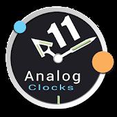 Analog Clocks Pack 11 UCCW 1.0