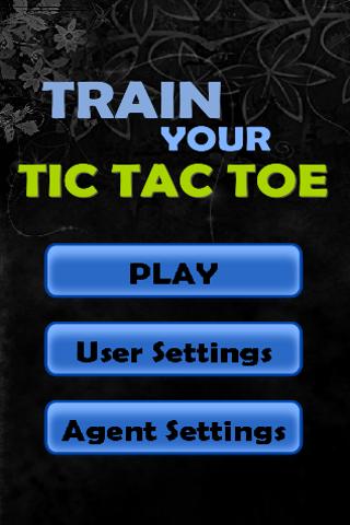 Train Your Tic Tac Toe