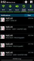 Screenshot of MyELAS