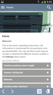 Volvo Trucks Driver's Handbook - screenshot thumbnail