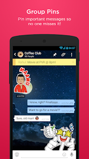 hike messenger - screenshot thumbnail