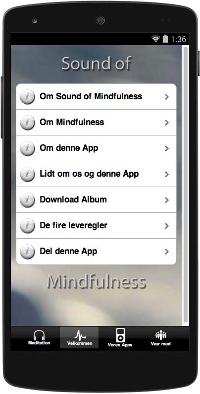 Sound of Mindfulness DK- screenshot
