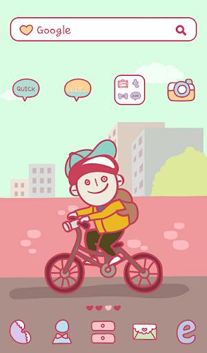 달려라 자전거 도돌런처 테마