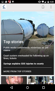 Pueblo Chieftain News - screenshot thumbnail