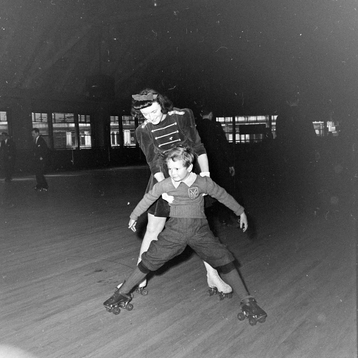 66-Girl In Skating Ring
