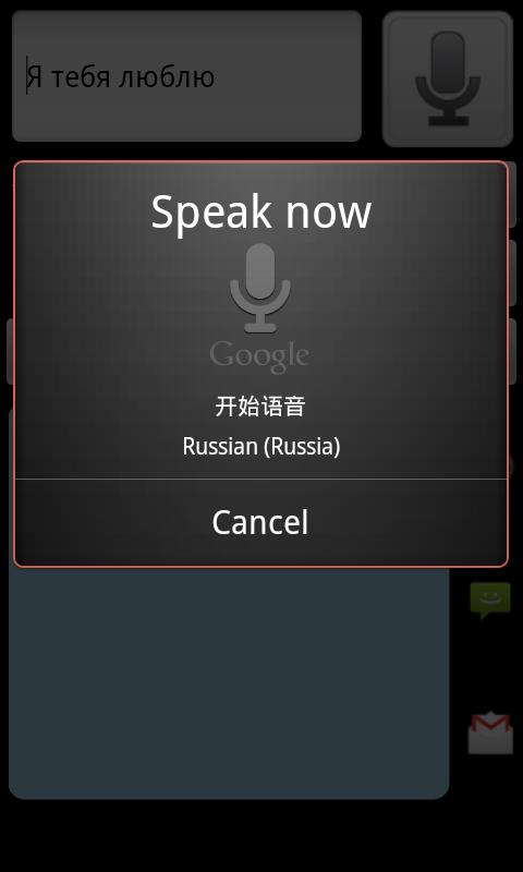 Chinese Russian Translator - screenshot