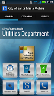 City of Santa Maria Mobile - screenshot thumbnail