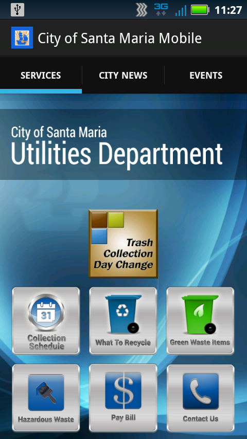 City of Santa Maria Mobile - screenshot