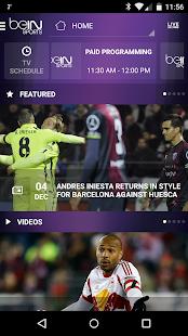 beIN SPORTS - screenshot thumbnail