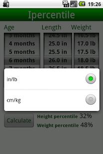 玩免費醫療APP|下載Percentile Growth Charts app不用錢|硬是要APP