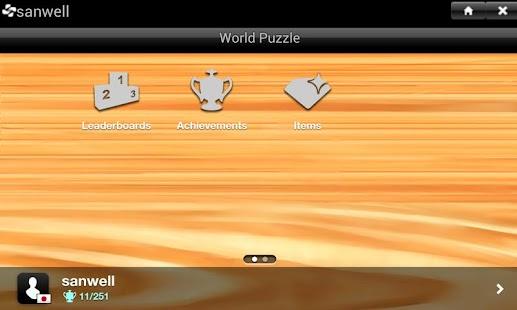 ハマる!覚える!世界地図パズル for Smartphone- スクリーンショットのサムネイル