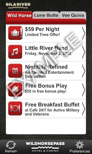 Gila River Casinos App