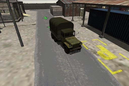 卡車停車場