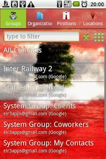 Corporate Contacts- screenshot thumbnail